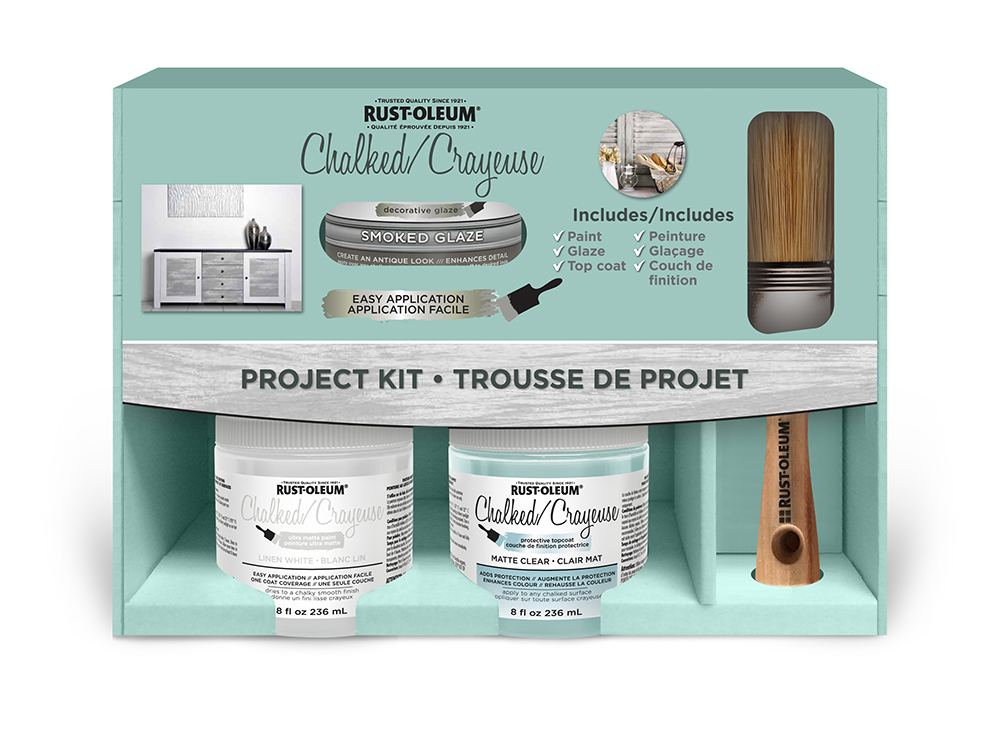Chalked Paint Project Kit Product Page
