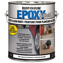 Rust Oleum Epoxyshield   L Armour Grey Concrete Floor Paint