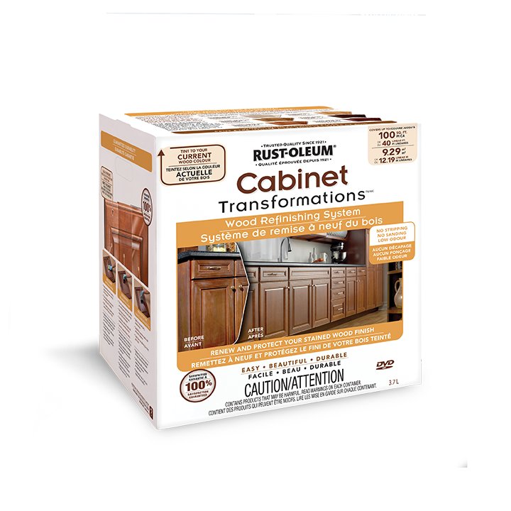 Kitchen Cabinet Restoration Kit: Cabinet Transformations® Wood Refinishing System