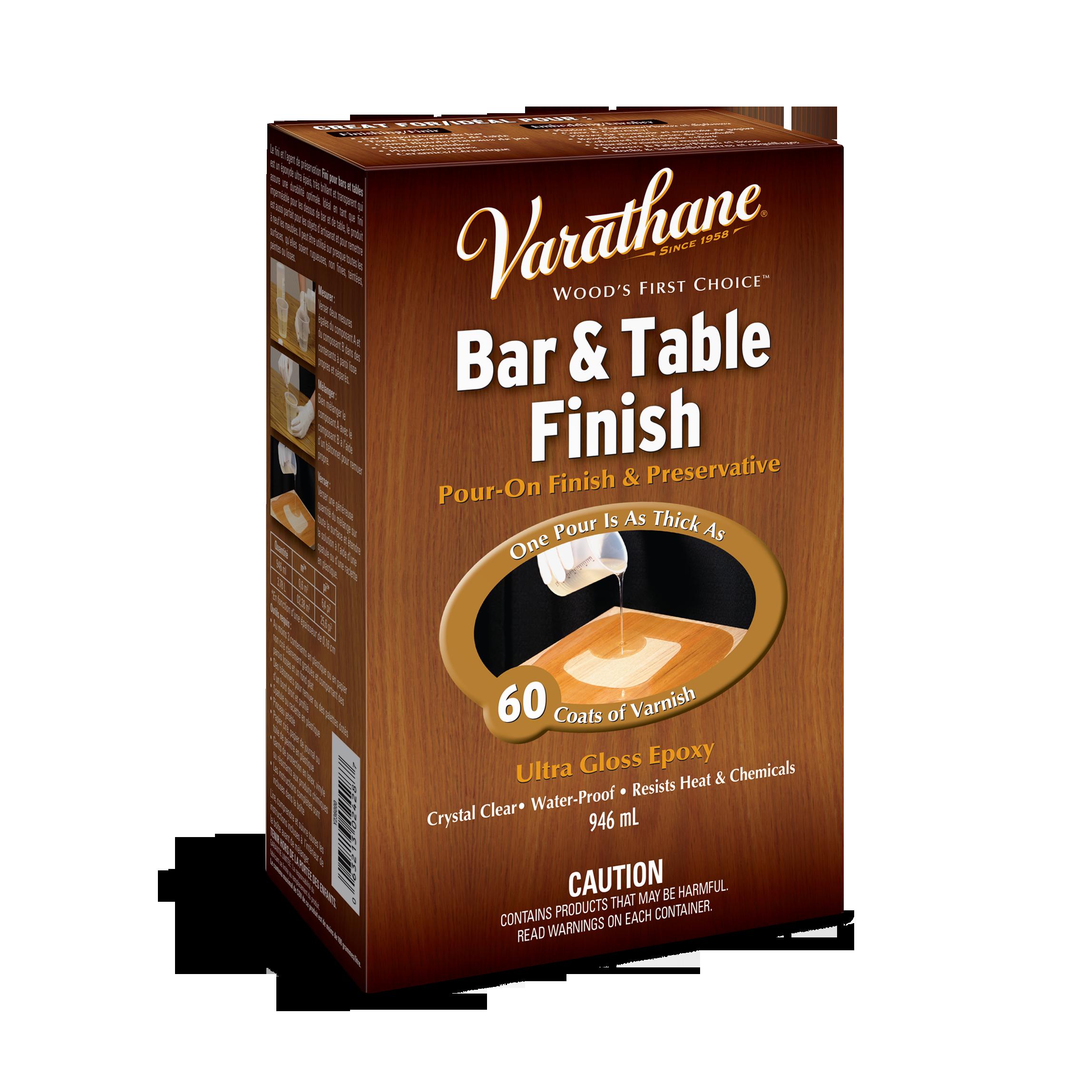 Bar & Table Finish