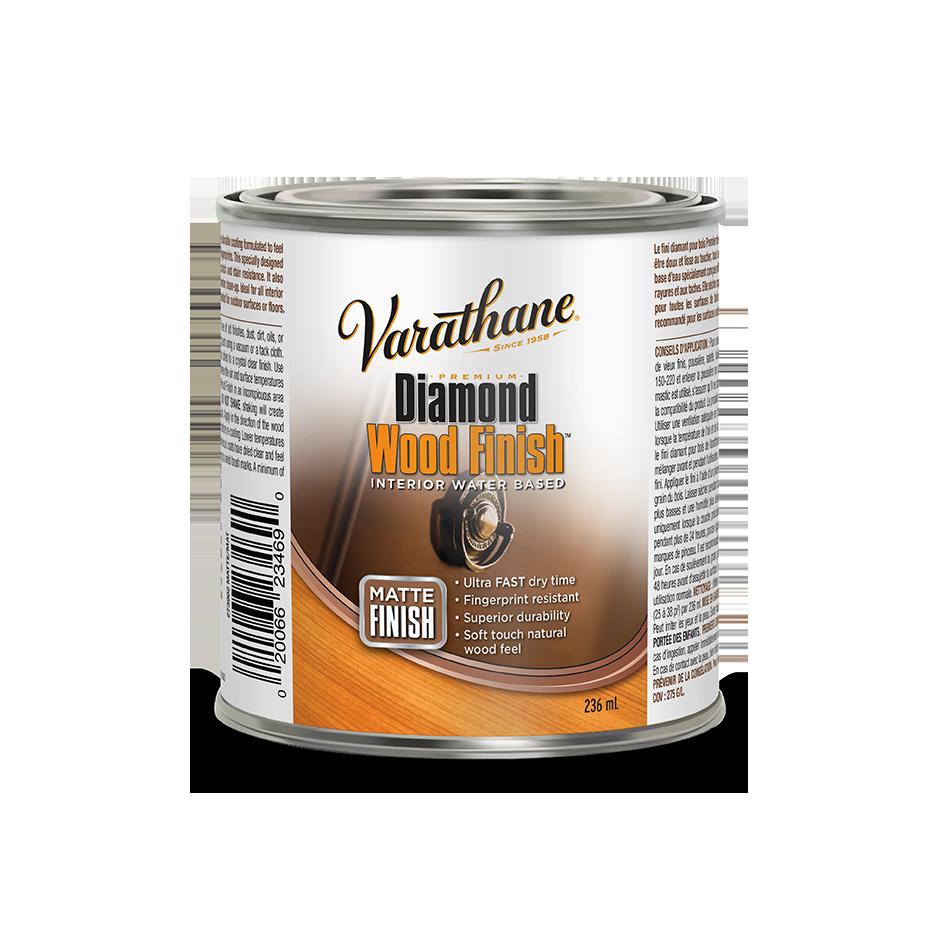 Varathane diamond wood finish matte finish product page - Clear matt varnish for exterior wood ...