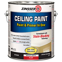 Zinsser 174 Ceiling Paint Product Page