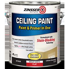 Ceiling Paint And Primer In One Zinsser Rust Oleum